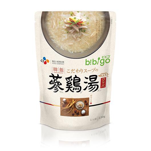 bibigo韓飯レトルトクッパ 参鶏湯(もち米)