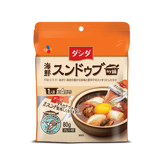 ダシダ my鍋 海鮮スンドゥブ